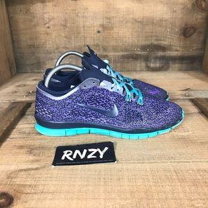 Nike Free TR Fit 4 Purple Teal